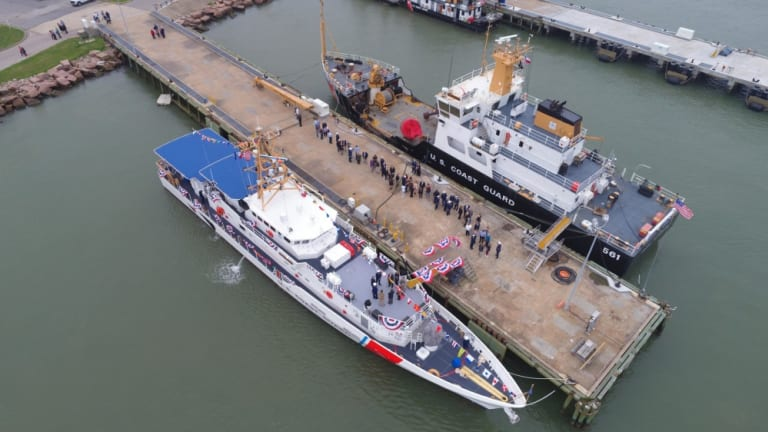 Coast Guard commissions Cutter Daniel Tarr