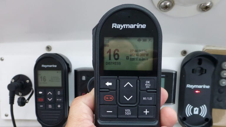 Wireless, Full Powered, Multifunction VHF from Raymarine