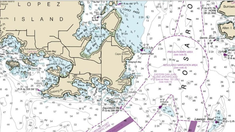 How does NOAA make nautical charts?