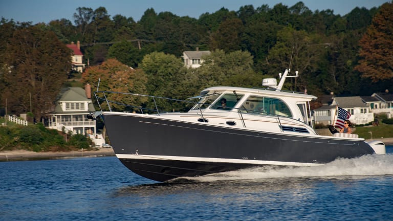 Back Cove 34O (for Outboard)
