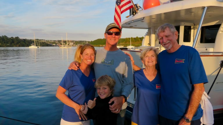 Crossing the Atlantic: A Family First