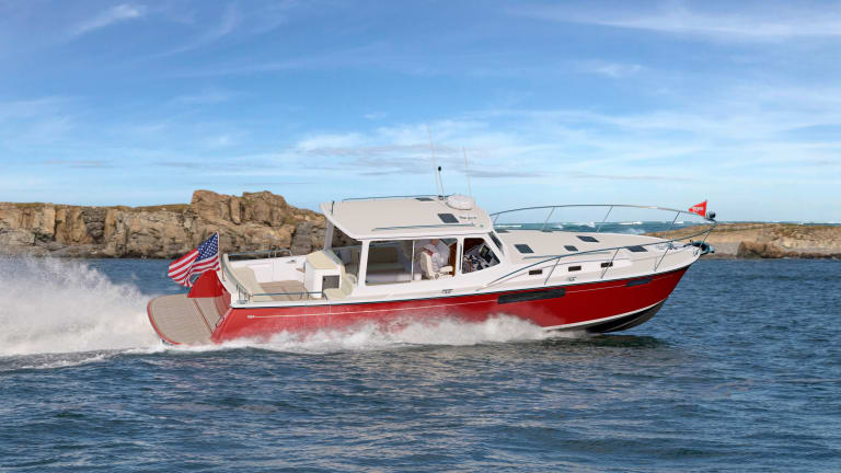 The MJM 43zi Performance Cruising Yacht