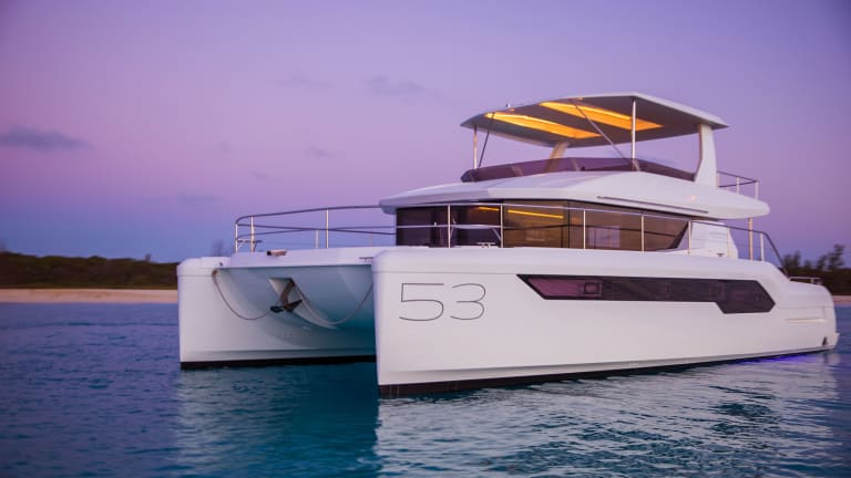 Chris Caswell Examines the Leopard 53 Powercat