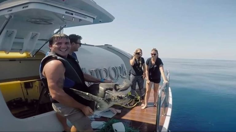 Trawlers Doing Good: Aurora Saves