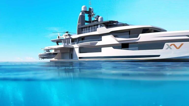 Heesen's and Winch Design's new Xventure Explorer Yacht