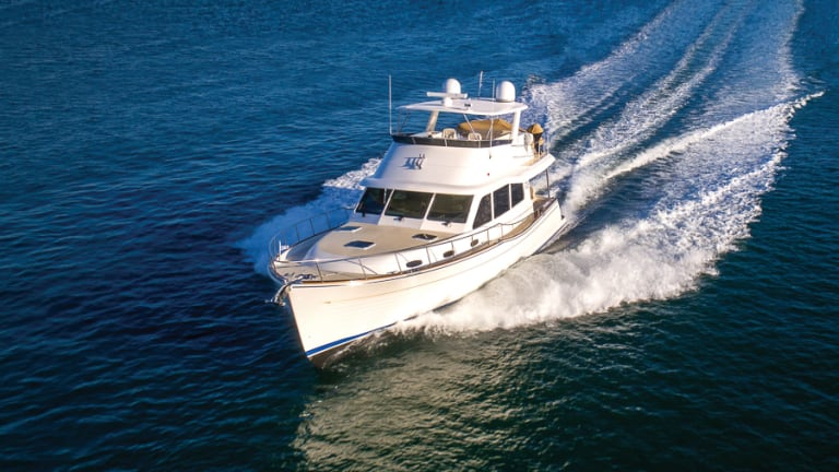 Grand Banks 54 Makes Landfall in the US