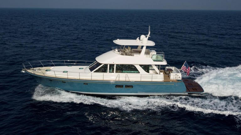 Hinckley Launches Hunt Ocean 63