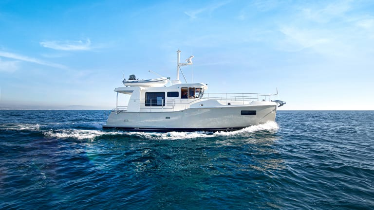 Sturdy Little Sister: Nordhavn 41 Sea Trial Review