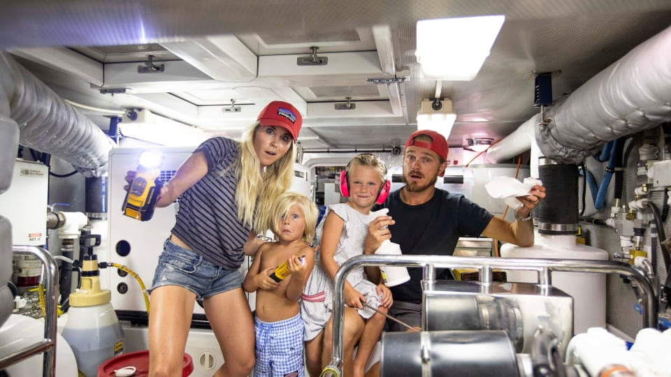 Family Ties: Long-Range Cruising with Kids [PODCAST]