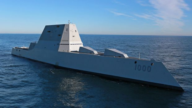 Future_USS_Zumwalt's_first_underway_at_sea