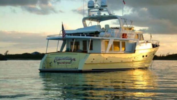 The Parker's cruiser, Catalina Sunshine.