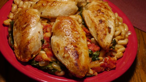 Baked Tuscan Chicken