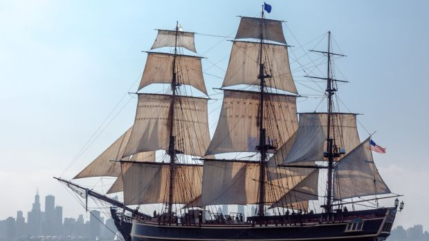 HMS Bounty II Off Chicago