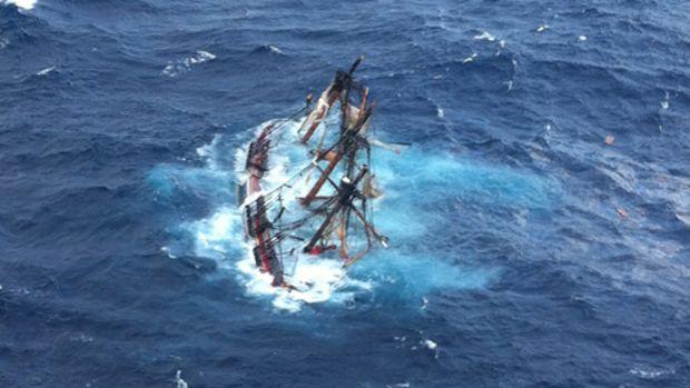 121029-G-ZZ999-001 - Coast Guard rescues crewmembers aboard HMS