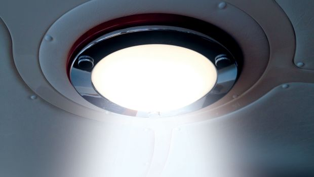 Dome light with LED2s