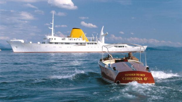 The Newly Restored Christina O Former Private Yacht Of Aristotle Onassis