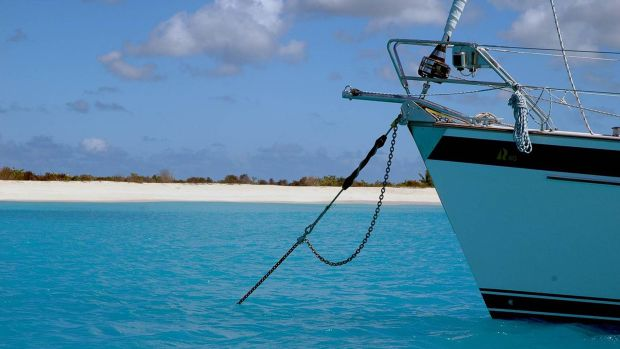 Snubber with additional rubber shock absorber (courtesy Mahina Expeditions)