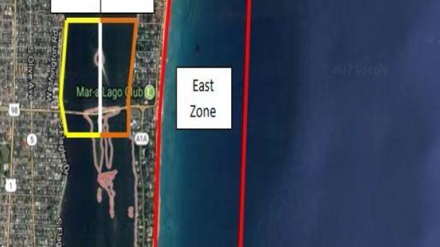mar-a-lago security zone