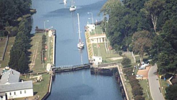 Great Bridge lock