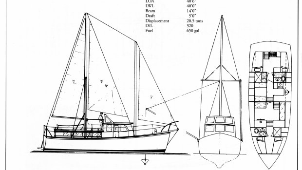 Beebe 42' Economical Passagemaker (Design 105).