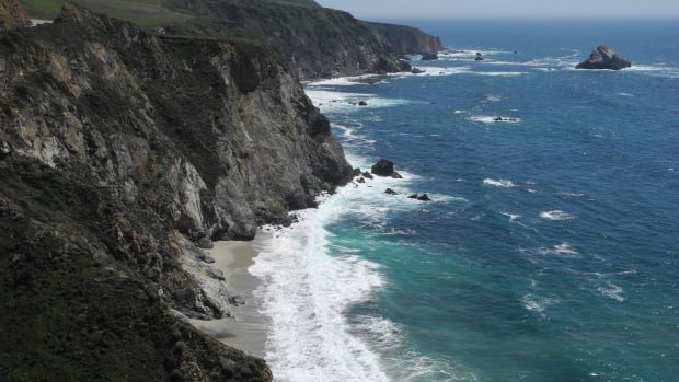 The rugged coastline of Big Sur.