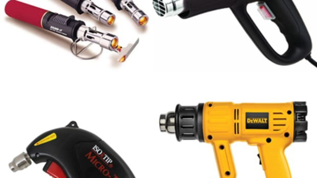 Heat guns come in all shapes and sizes, form small handhelds to power drill sizes, to cover a range of projects. Knowing your abilities is vital when handling a heat gun because when things go south you can wind up torching your boat to the waterline.