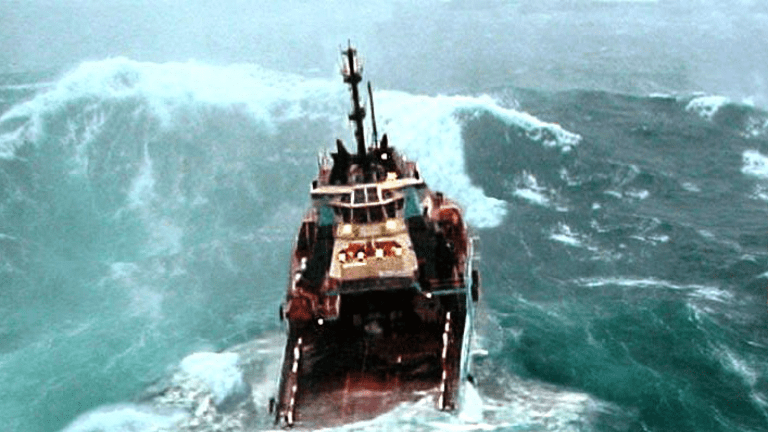 Freaks of Nature: How Rogue Waves Reach up to 100-Foot Heights