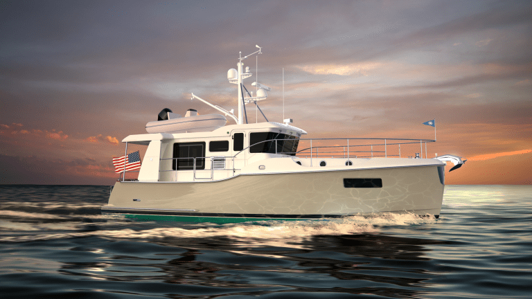 No, the New Nordhavn 41 Won't Have an 8,200-NM Range