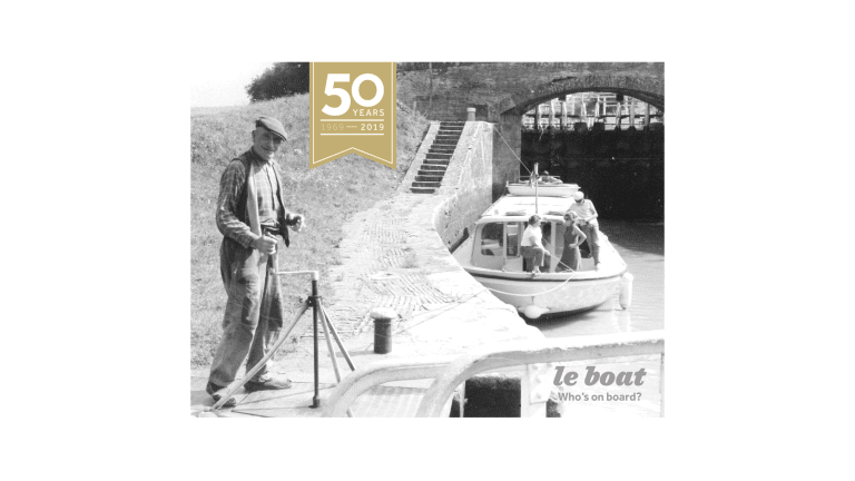 Le Boat celebrates 50 Years of Boating Experience