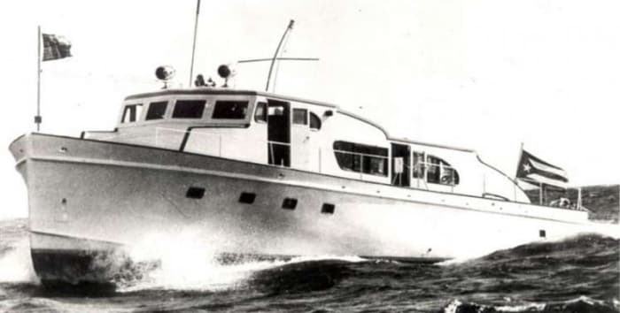 Granma in service during the 1960s.