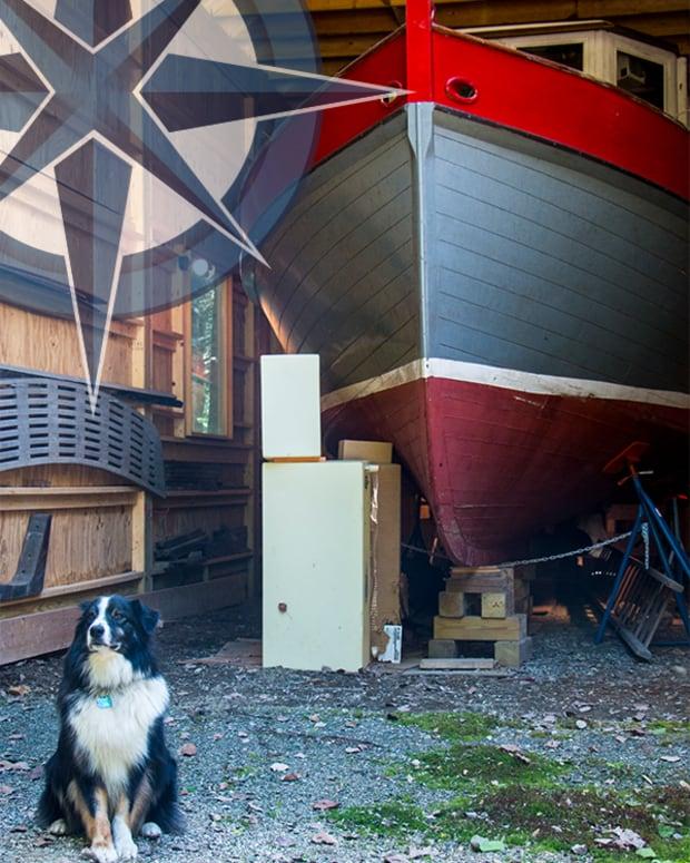 trawler tent