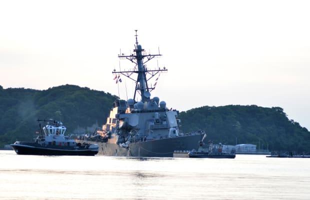 Navy Blames Watchstanders, Leadership