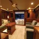 The saloon of the Marlow 49 Explorer.