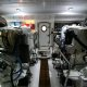 The engine room aboard the Marlow 49 Explorer.