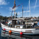 Rebuilt over the course of five years by legendary NW boatbuilder, Sam Devlin, 'Josephine' is a 1934-built salmon troller who is no stranger to long trips. This year, Sam and his wife took 'Josephine' from her home port in Olympia to Kynoch Inlet in Northern British Columbia.