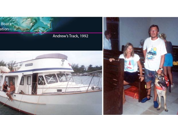 How We (And Our Boat) Survived a Direct Hit by Andrew