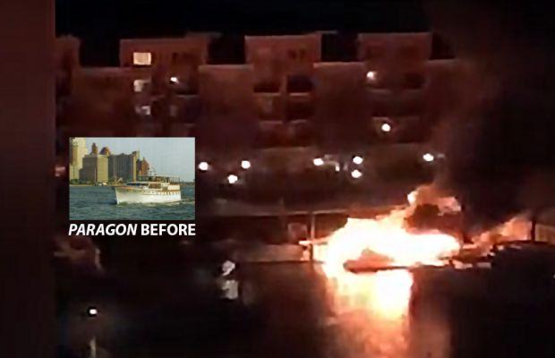 Stunningly Restored Trumpy Destroyed in Jersey Marina Fire
