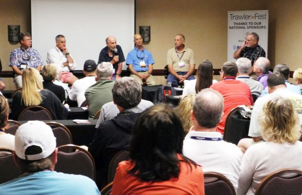 Co-Ed or Not, TrawlerFest Has Lively Panel Discussions