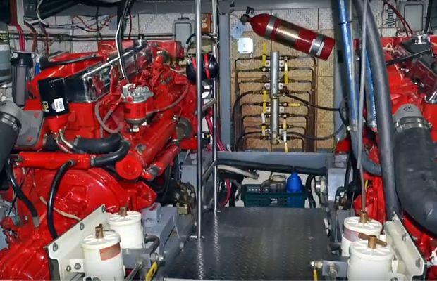 Tour the Engine Room of a Defever 49 (Video)