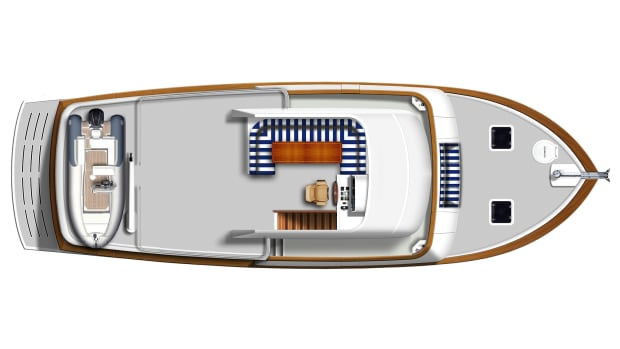 Krogen50 Arrangement Flybridge