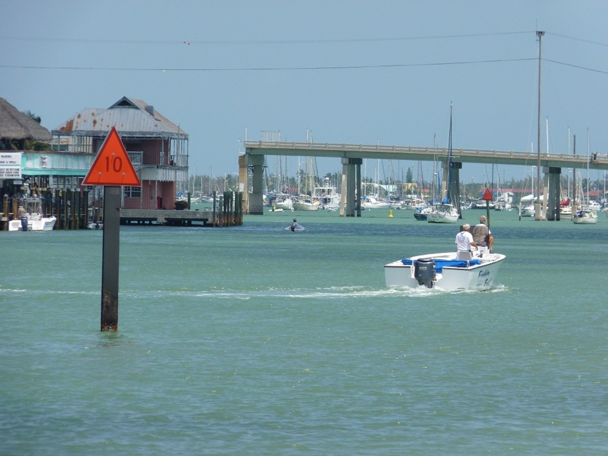 Entrance to Boot Key Harbor.