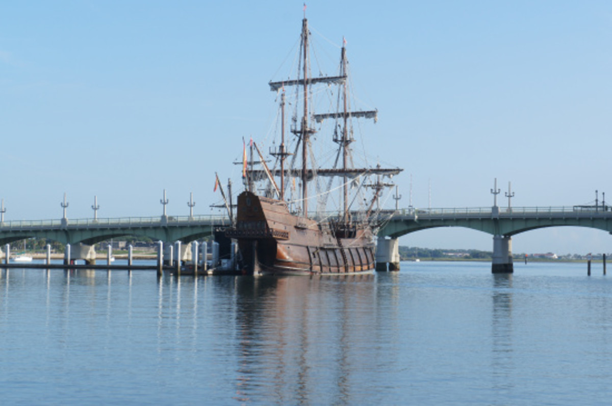 A very cool tall ship we encountered.