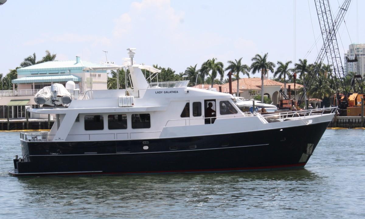 Lady Galathea starboard profile