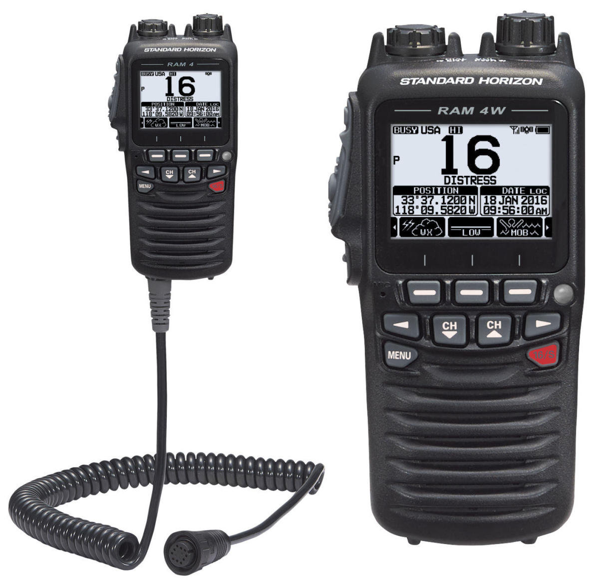 Standard Horizon GX6500: a loaded VHF radio also integrated