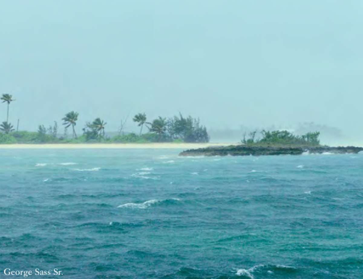 Stormy weather is a regular feature in the Bahamanian winter, especially in the northern islands and cays.