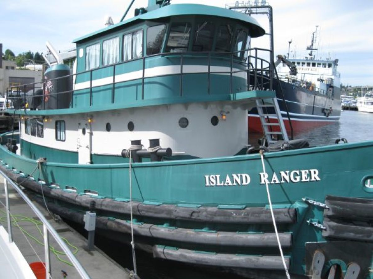 The Most Unusual Boat At Trawler Fest Anacortes Passagemaker