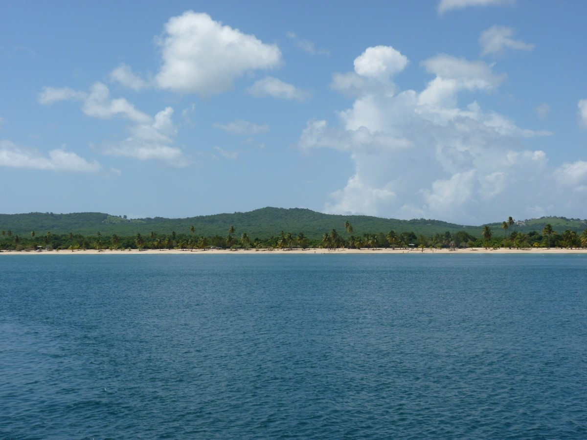 Sun Bay, one of the many gorgeous beaches on Vieques.
