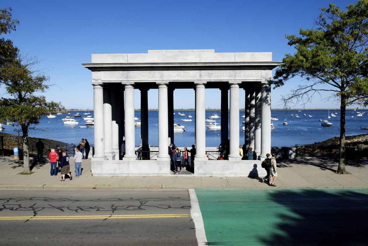 This structure on the waterfront houses what many believe to be the infamous Plymouth Rock. Truth is nobody really knows which rock the Mayflower landed on.