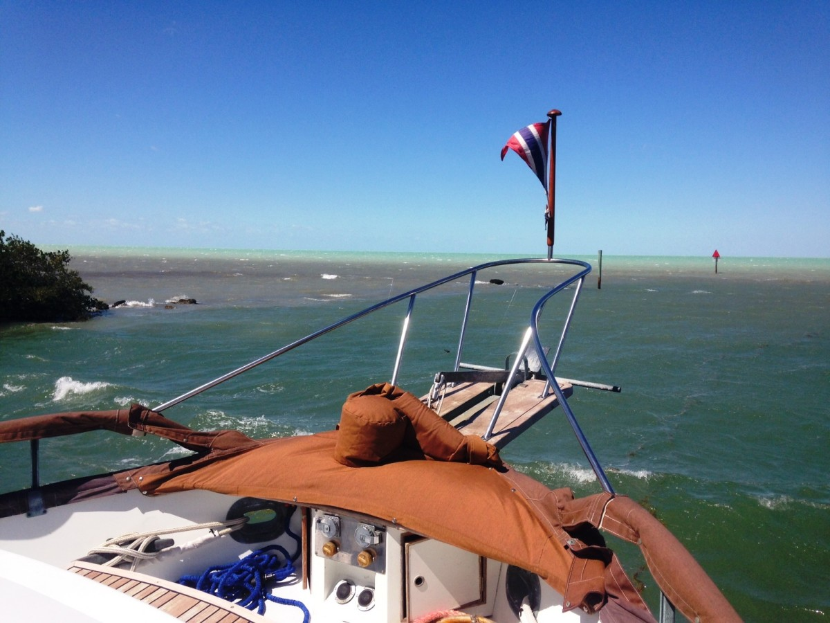 "30 knot Winds … ""Yeah Butch, I see the Norther."""