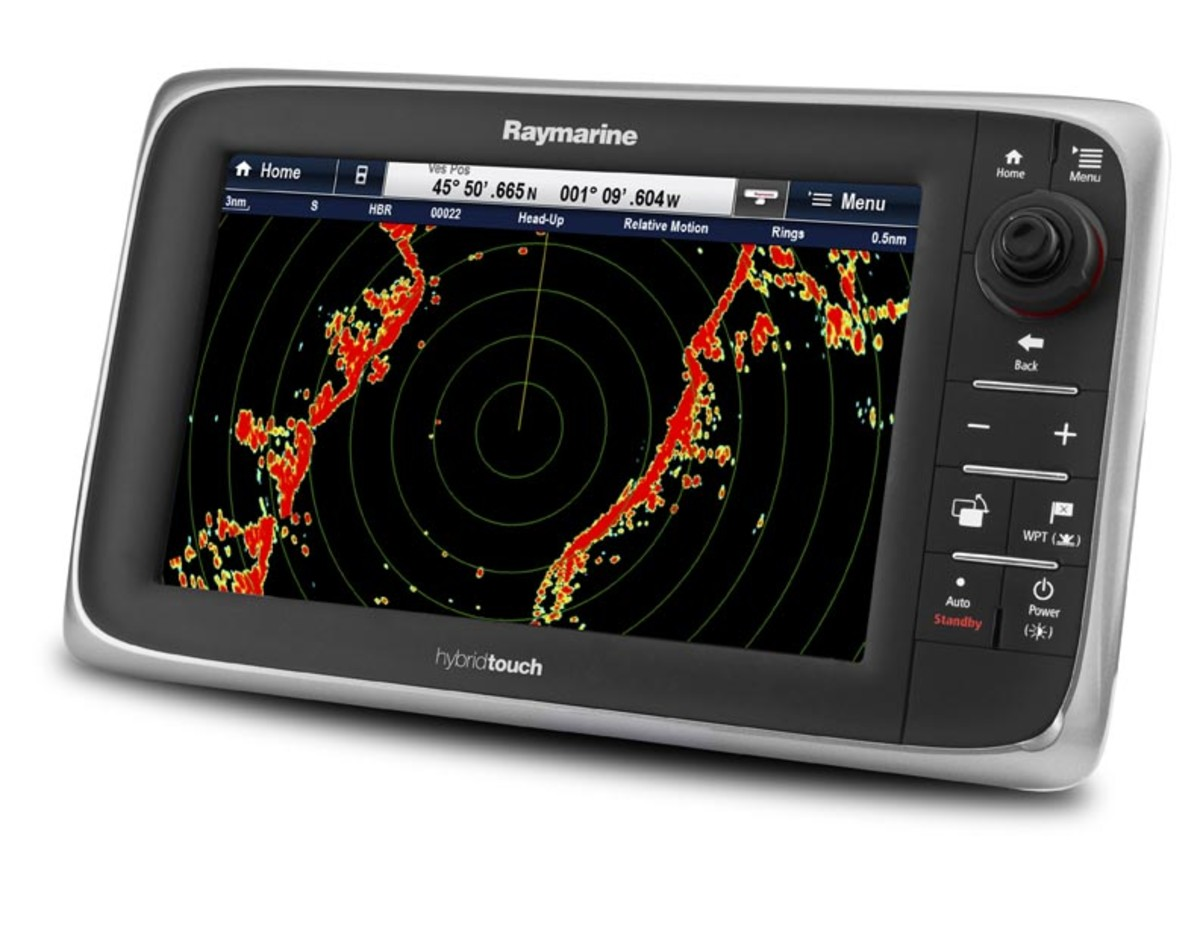 Multi-function navigation systems (MFDs) provide radar functionality while optimizing helm space.